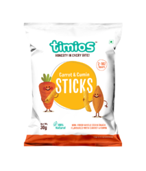 Carrot & Cumin Sticks