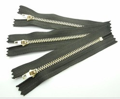 No 4 Big Jean Metal Zippers