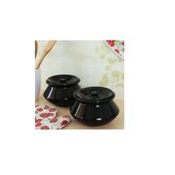 Black Ceramic Handi