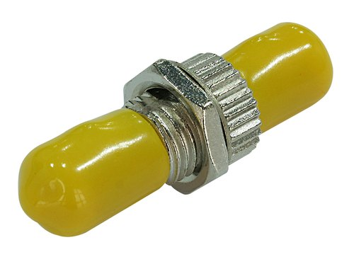 Round  Fiber Optic FC Metal Small D Adapter