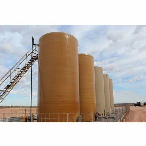 Horizontal Tanks - FRP DM Water Storage Tank Manufacturer