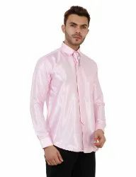 Pink Color Male Formal Shirt