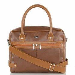 Laptop Bag In Tan