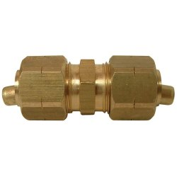 Brass Compression Coupling Fitting