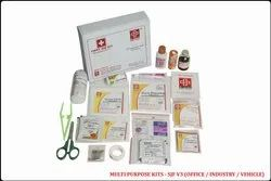 White First Aid Kit, Model Name/Number: SJF V3, Packaging Type: Box