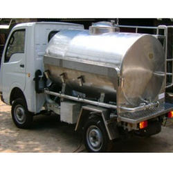 Movable Milk Tanker