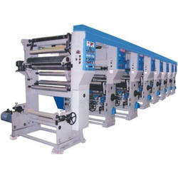Gauri Tech Automatic 8 Color Roto Gravior Printing Machine