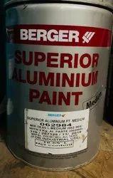 Enamel Berger Superior Aluminum, Packaging Type: Tin