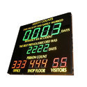 LED Safety Display Board