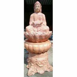 Golden Buddha Fiber Fountain