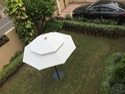 Steel Poolside & Garden Umbrellas