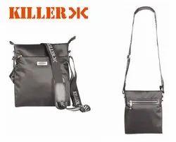 Unisex Black Killer Casual Sling Bag