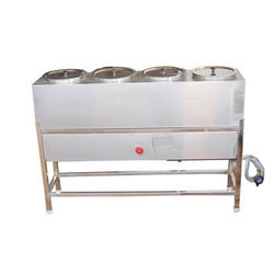 Sri Karpagam Stainless Steel Four Hole Hot Case, For Storage