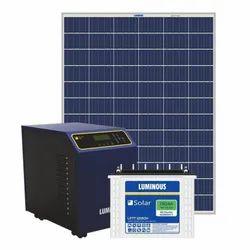 Luminous 5kW Solar Inverter Battery