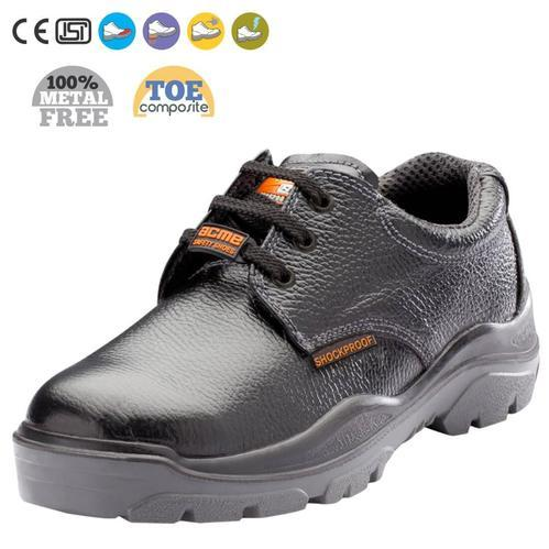 Black Industrial ACME STEELE RANGE SAFETY SHOES WITH COMPOSITE TOE  (ELECTRICAL) Model  NEUTRON c52a01f75362