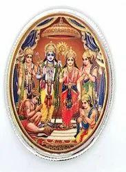 Ram Darbar Color Silver Coin 10 gm