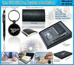 3pcs Gift Set (Pen,Keychain,Card Holder)H-904
