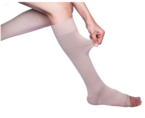 464d097e9dcf8 Sorgen Microfiber Class Ii Knee Length Compression Stockings For Varicose  Veins, Size: S/