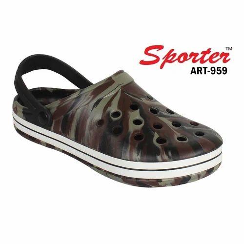c06d77fa825b Sporter Men Brown EVA Clogs Sandals