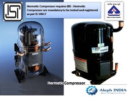 BIS Certification Service For Hermetic Compressor