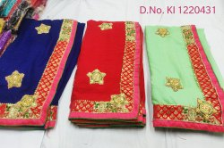Ethnic Traditional Gota Patti Saree