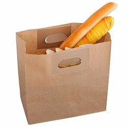 Flat Bottam D-Cut Food Paper Bags