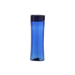 Orange And Blue Plastic Water Bottle