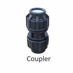 Poonam Plastic Coupler, Size: 3/4 Inch