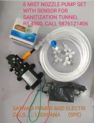 Disinfectant Tunnel Nozzle Kit