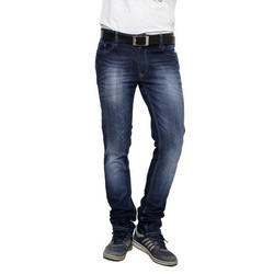 Fausta 30 and 34 Mens Blue Cotton Stretch Jeans