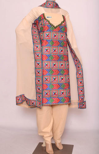 Special Cotton Phulkari suit
