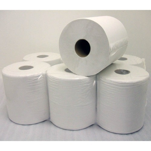 White Plain Toilet Paper Roll
