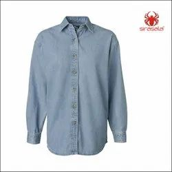 Denim Printed Shirt