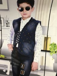 Kids Dress Boy Baba Suit, Medium