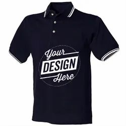 Custom Tipping Polo T Shirt