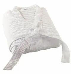 Organic Cotton Waffle Weave Bath Robe
