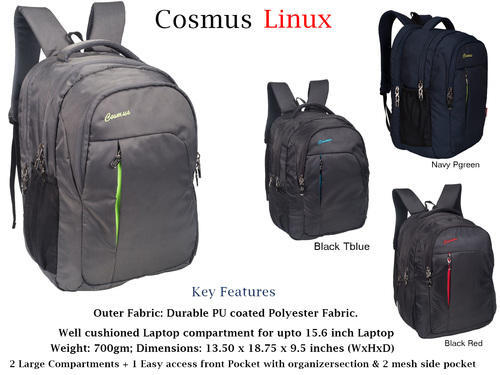 91cce8e56db3 Polyester Lightweight Laptop Backpacks
