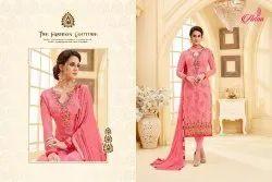 Adaa Apsara Vol-4 Series 571-577 Stylish Party Wear Georgette Suit