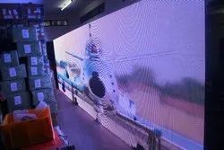 Full Color Indoor & Outdoor LED Screen, For To Run Videos Images
