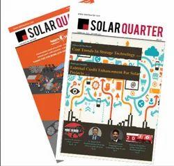 2 Year Solar Quarter Print Magazine  Publishing Service