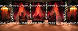 Black Jodha Akbar Sangeet Stage