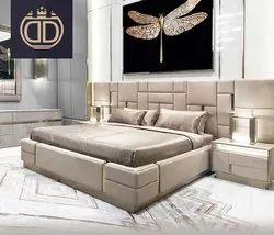 Luxurious Italian Bed With Storage(Hydraulic Storage)