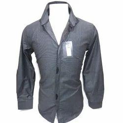 Collar Neck Casual Wear Men Full Sleeve Cotton Shirt