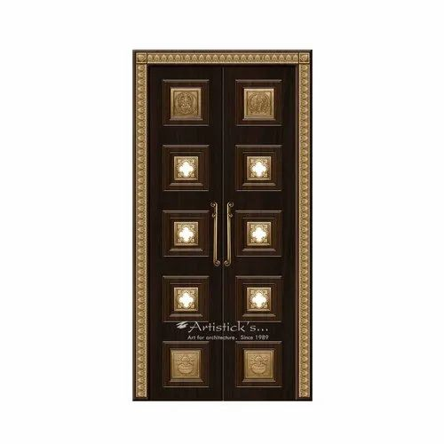 Latest Pooja Room Doors