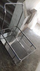 Stainless Steel Plateform Trolley