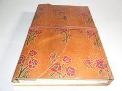 Leather Printed Handmade Journal
