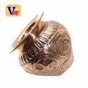 Akash Copper Worship Lota, Size: 6 Inch