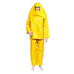 Yellow PVC Chemical Suit