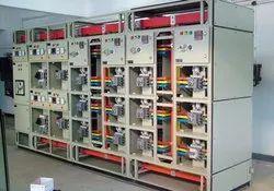 Mitsubishi Mild Steel Motor Stater Panel, Voltage: 440 V