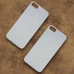 White Polycarbonate Iphone 5C 3D Sublimation Mobile Back Black Cover